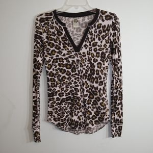 Women's Cheetah Print Top